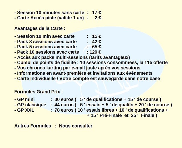 Karting epinal vosges lorraine alsace franche comte tarifs 2014 03 640 1